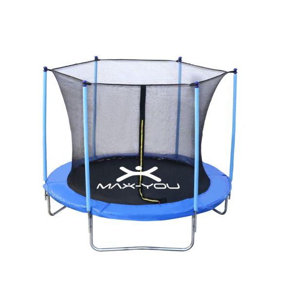 Cama elástica premium Max You 3mts con red de protección